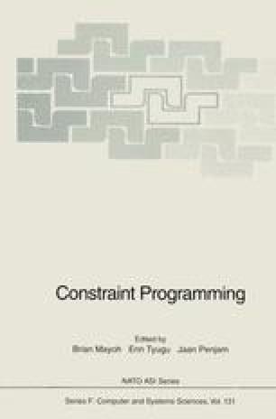 Constraint Programming