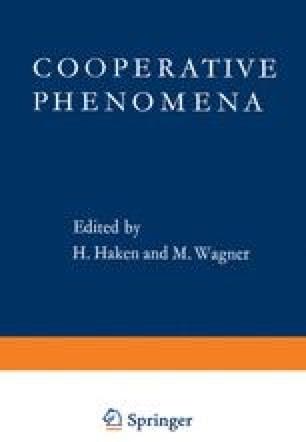 Cooperative Phenomena