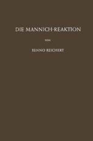 Die Mannich-Reaktion