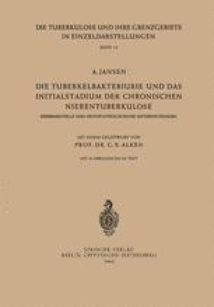 Die Tuberkelbakteriurie und das Initialstadium der Chronischen Nierentuberkulose