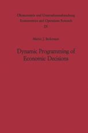 Dynamic Programming of Economic Decisions