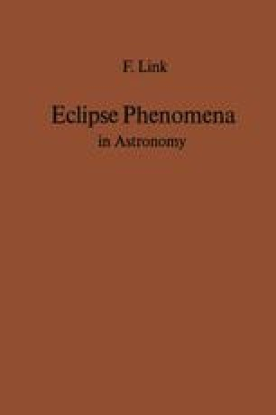 Eclipse Phenomena in Astronomy