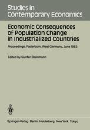 Economic Consequences of Population Change in Industrialized Countries