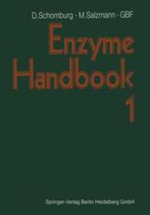 Enzyme Handbook 1