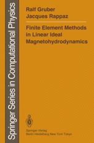 Finite Element Methods in Linear Ideal Magnetohydrodynamics