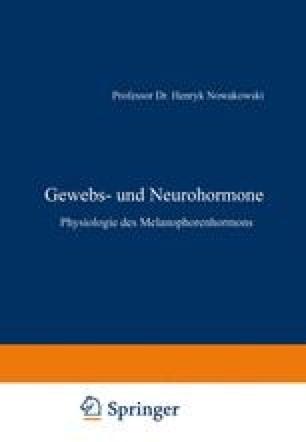 Gewebs- und Neurohormone
