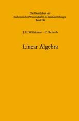Handbook for Automatic Computation