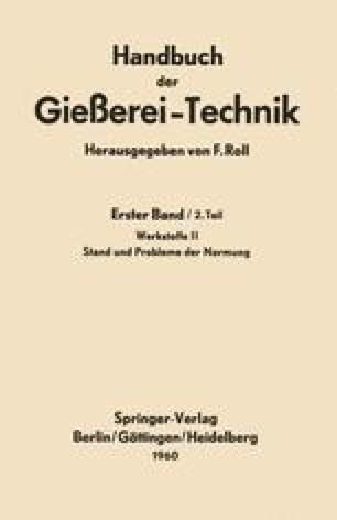 Handbuch der Gießerei-Technik