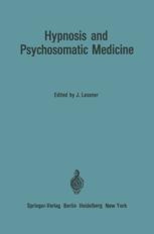 Hypnosis and Psychosomatic Medicine