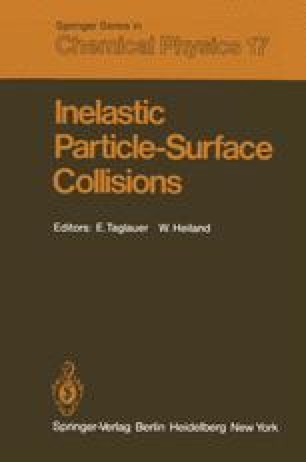 Inelastic Particle-Surface Collisions
