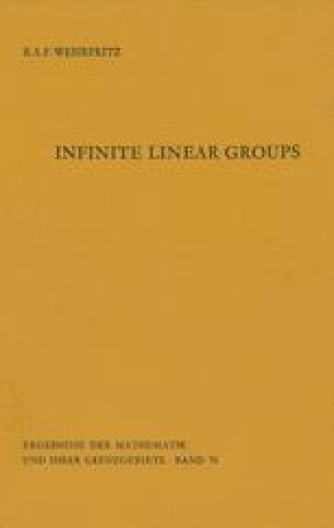 Infinite Linear Groups