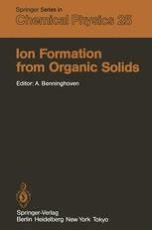 Ion Formation from Organic Solids