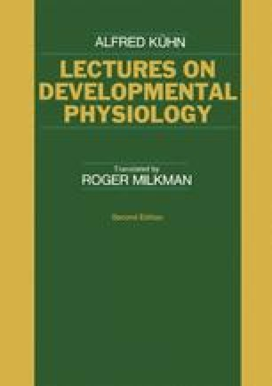 Lectures on Developmental Physiology