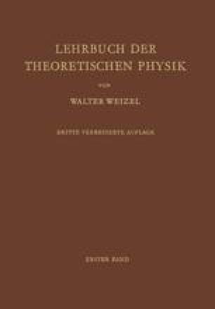 Lehrbuch der Theoretischen Physik