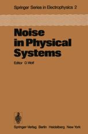 Noise in Physical Systems