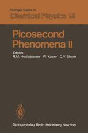 Picosecond Phenomena II