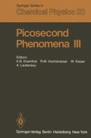 Picosecond Phenomena III