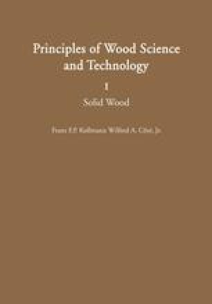 Principles of Wood Science and Technology
