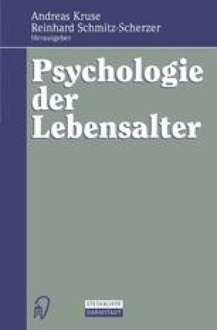 Psychologie der Lebensalter