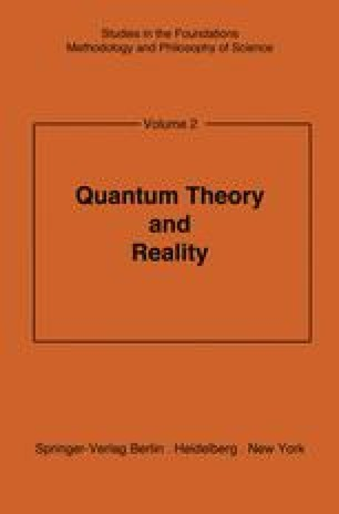 Quantum Theory and Reality