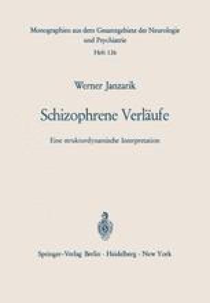 Schizophrene Verläufe