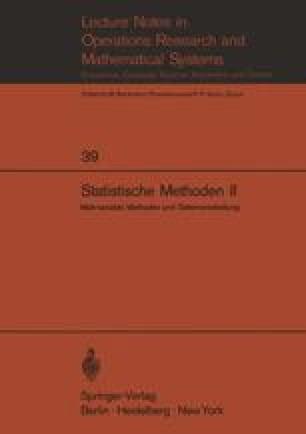 Statistische Methoden II