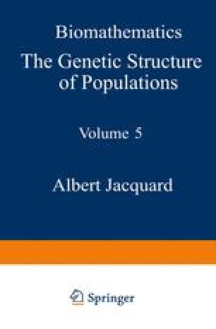 The Genetic Structure of Populations