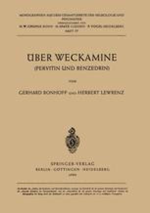 Über Weckamine