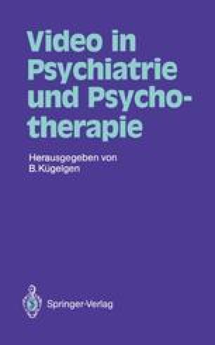 Video in Psychiatrie und Psychotherapie
