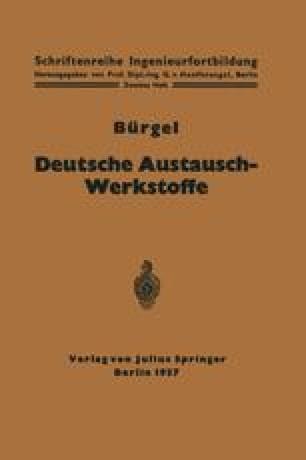 Deutsche Austausch-Werkstoffe