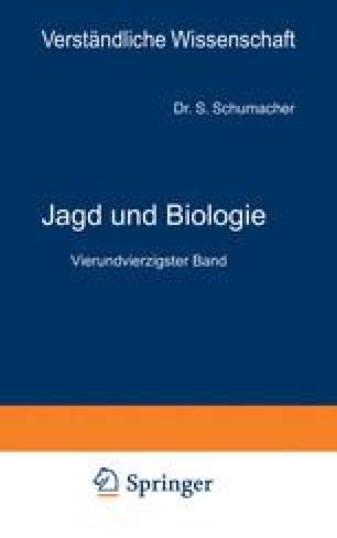 Jagd und Biologie