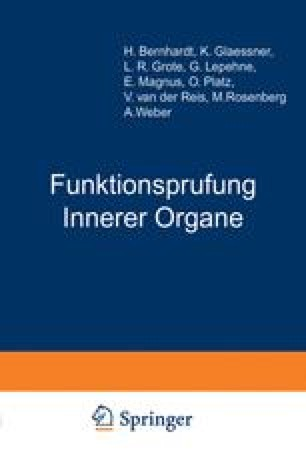 Funktionsprufung Innerer Organe