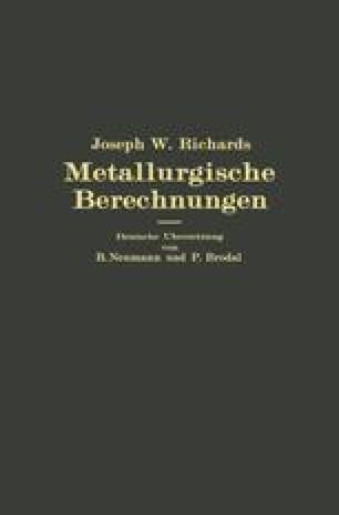 Metallurgische Berechnungen