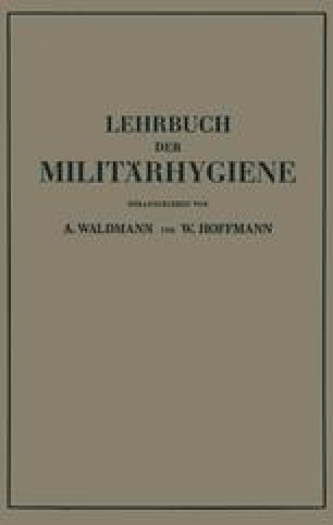 Lehrbuch der Militärhygiene