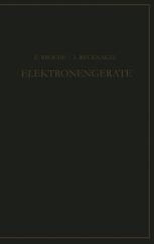 Elektronengeräte