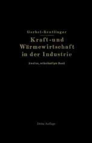 Kraft- und Wärmewirtschaft in der Industrie