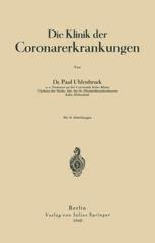 Die Klinik der Coronarerkrankungen