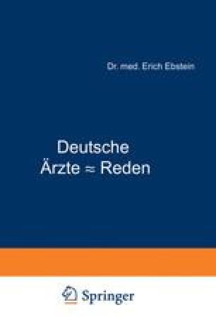 Deutsche Ärƶte - Reden