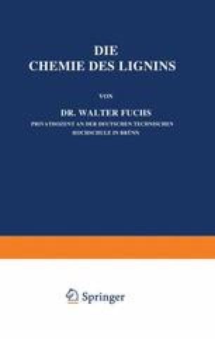 Die Chemie des Lignins