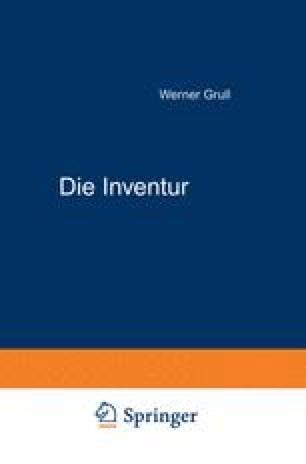 Die Inventur