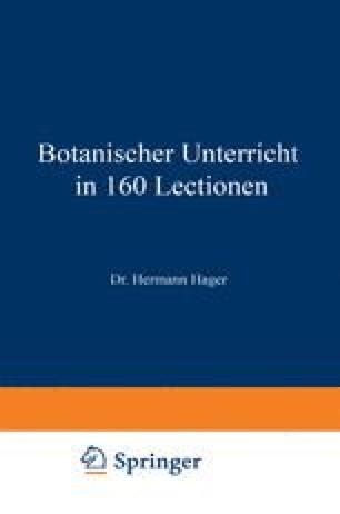 Botanischer Unterricht in 160 Lectionen