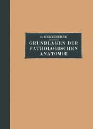Grundlagen der Pathologischen Anatomie
