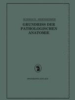 Grundriss der Pathologischen Anatomie
