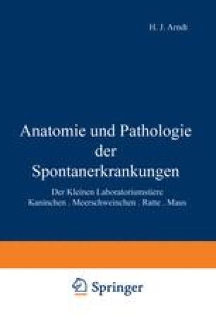 Anatomie und Pathologie der Spontanerkrankungen