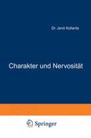 Charakter und Nervosität