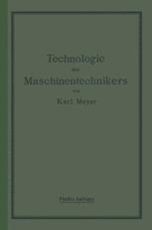 Die Technologie des Maschinentechnikers