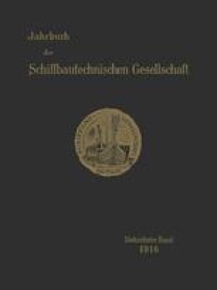 Jahrbuch der Schiffbautechnischen Gesellschaft