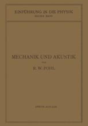 Einführung in die Mechanik und Akustik