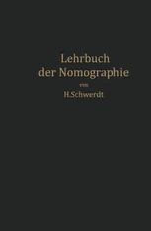 Lehrbuch der Nomographie
