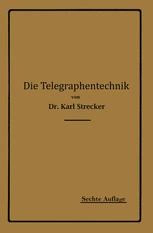 Die Telegraphentechnik